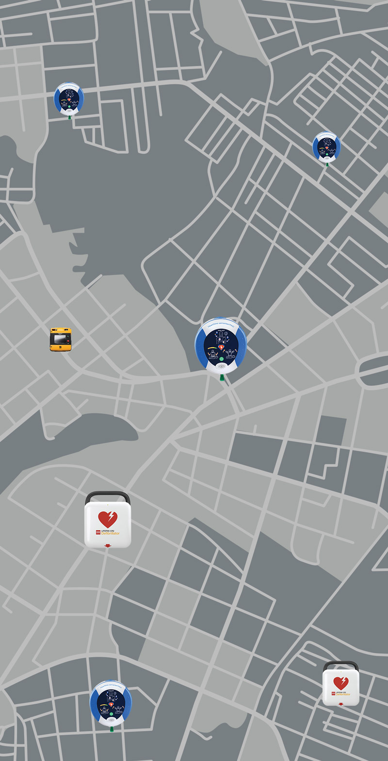 AED Map